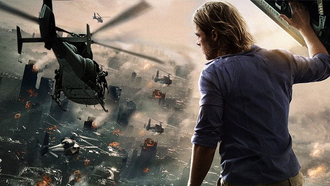 World war z movies on zombie