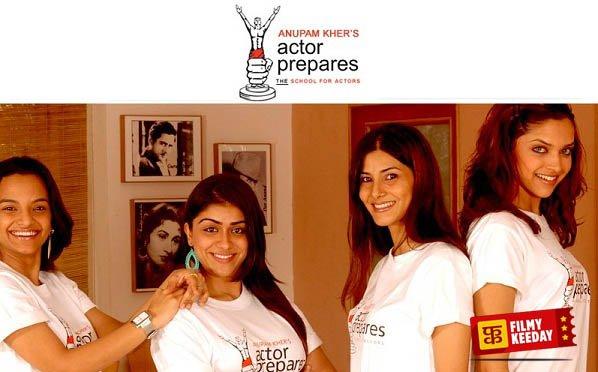 Anupam Kher Actor Prepares