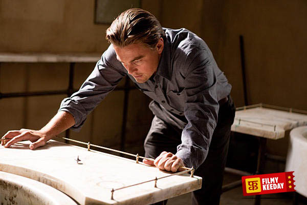 Inception best movie of Leonardo Dicaprio