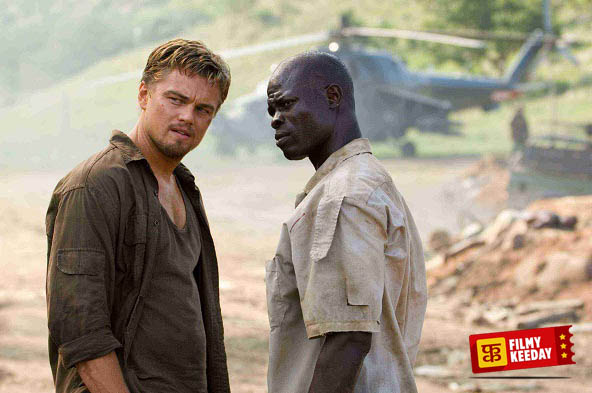 Leonardo DiCaprio in Blood Diamond Best Films List