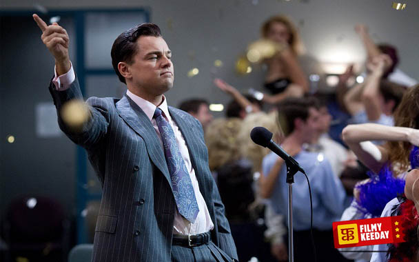 Wolf of Wall Street best film of Leonardo Dicaprio