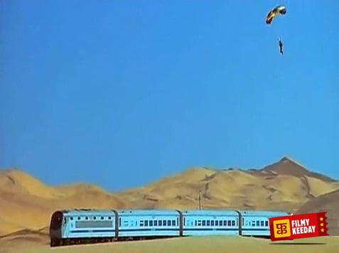 dhoom 2 stunts Hrithik Roshan