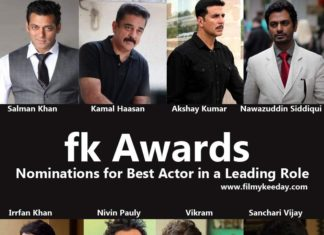 Best Actor in a Leading Role FK Awards by Filmy Keeday