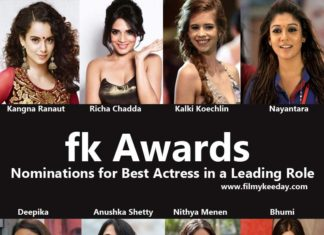 FK Awards best actress in a leading role Filmy Keeday