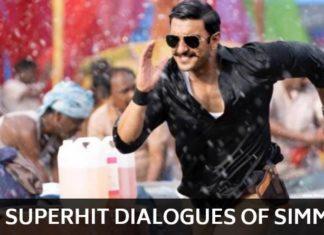 Simmba Dialogues Ranveer Singh