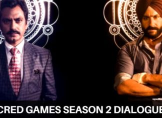 Sacred games 2 dialogues episode 9