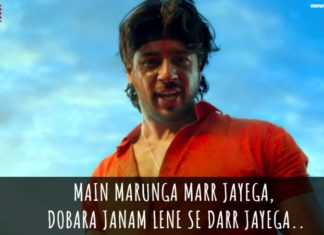 Marjavan dialogues sidharth malhotra action film