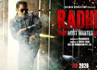Radhe Indias most wanted bhai Poster